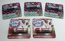 Kid's Flavored Lip Balm 5 Packages LOL Cherry Blow Pop Brand New
