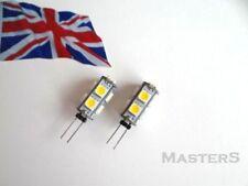 2 x G4 9SMD 5050 12Volt DC 0.8 Watt Warm White LED Bulbs  - Genuine UK Stock