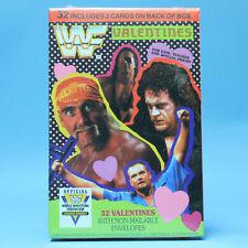 WWF Valentines Day Cards - 1992 Vintage Wrestling Undertaker Hogan Boss Man Bret