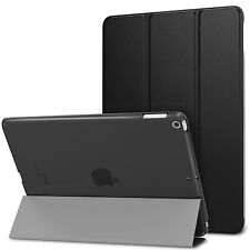 "Smart Shell Stand Cover Translucent Frosted Black Case for  iPad 9.7"" 2018/2017"