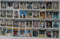1986 Topps New York Yankees Team Set of 36 Baseball Cards