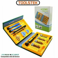 38 Pcs Screwdriver Tools Repair Mobile Cell Phone Set iphone 4 5 6 iPod Laptop