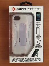iCOVER PROTECT CASE FOR iPHONE 4 & 4S (White)