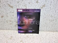 Hbo Guide Booklet July 2019 Euphoria Aquaman Cool Collectible