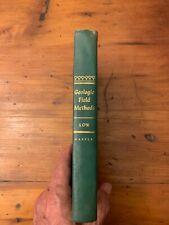 New ListingGeologic Field Methods by Julian W. Low, 1957 Hardcover