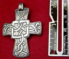 Carmelite Nun's Year 2000 Sterling Holy land Jerusalem Pilgrimage Celtic Cross