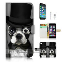 ( For iPhone 7 ) Wallet Case Cover P1352 Dog