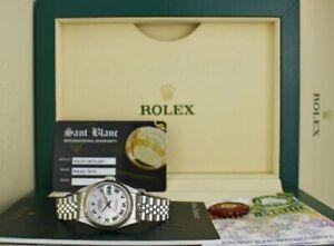 ROLEX - Ladies 18kt White Gold & SS DateJust MOP Roman Dial - 79174 SANT BLANC