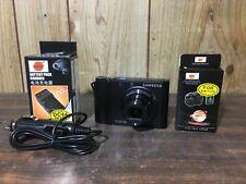 Samsung DualView TL34HD 14.7 MP Digital Camera - Black w/ Extra Batt & Charger