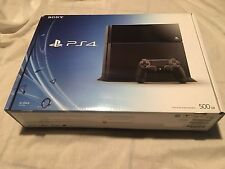 Sony Playstation 4 500gb SLIM PS4 - BOX ONLY - BOX ONLY - NO CONSOLE PLEASE READ