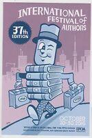 2016 Seth Illustrated Promo Card Festival Authors Palookaville Toronto Comics