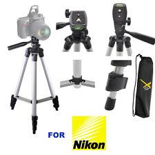 """50"""" PROFESSIONAL LIGHTWEIGHT TRIPOD FOR NIKON D3000 D3100 D3200 D3300 D5000"""