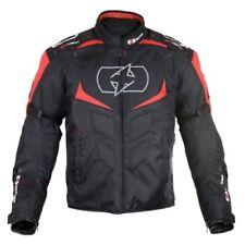 Blousons noir Oxford doublure thermique pour motocyclette