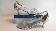 Coloriffics Bridal/Evening Shoes  - Ava - Silver  - US11M / UK 9 #5R187