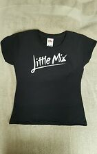 Girls Printed Little Mix Concert T-Shirt with FREE name printed on back