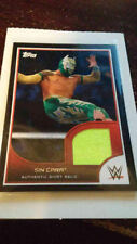 WWE Sin Cara 2016 Topps RTWM Event Used Shirt Relic Card SN 41 of 350