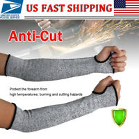 2PC Outdoor Work Safety Arm Guard Sleeve Anti-Cut Protective Cut-Resistant Glove