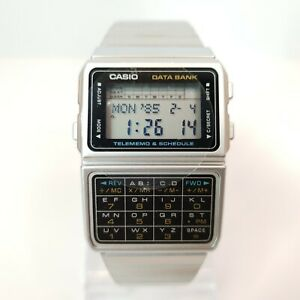 BNIB CASIO DBC-610A DATA BANK CALCULATOR WATCH MODULE 676 VINTAGE