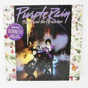 1984 PRINCE AND THE REVOLUTION PURPLE RAIN LP ALBUM VINYL RECORD NO POSTER RARE