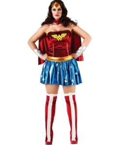 Wonder Woman Deluxe Womens Plus Size Costume