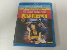 Pulp Fiction (Blu-ray Disc, 2011) QUENTIN TARANTINO DRAMA FILM 154MINS 6HRS+ AC