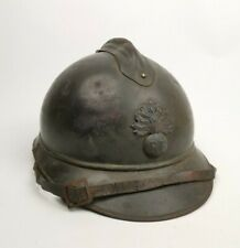 Casque Adrian Modèle 1915 Infanterie Poilu Ww1 14 18 French Helmet 1er Type