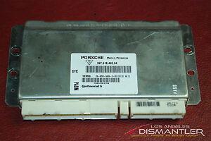 Porsche 911 997 Carrera Continental ECU Engine Control Unit Module 99761846504