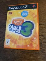 EyeToy Play 3 Sony PlayStation 2 Game Ex Cond