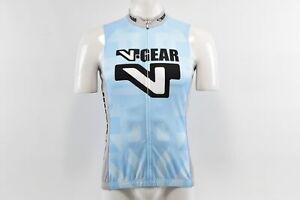Verge V-Gear Women's S/L Cycling Jersey, FZ, Light Blue, Size 2XL, Brand New