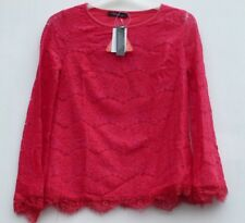 Coleen Bell Sleeve Lace Top - Pink - Size 8 - Box65 19 K