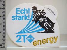 Aufkleber Sticker ARAL - 2T Energy - Motoröl -  Motorrad - Oil - Decal (2235)