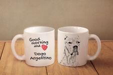 Argentinische Dogge - Keramik Becher Subli Dog DE