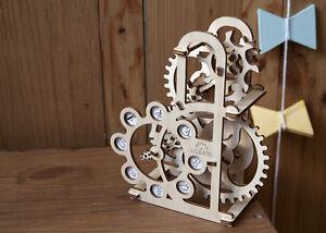 *VIDEO* 3D Holzpuzzle DYNAMOMETER Baukasten ORIGINAL UGEARS Geschenk KRAFTMESSER