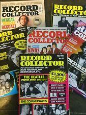 6 Record Collector Mags featuring Reggae, Bob Marley, Bunny Lee etc