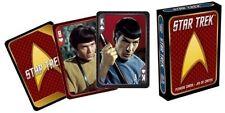 Oficial De Star Trek-Elenco-Jugando Con Las Tarjetas De 52 Todo Color Fotos