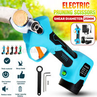 16.8V 150W Rechargeable Electric Pruning Scissors Branch Cutter Shears Batteries