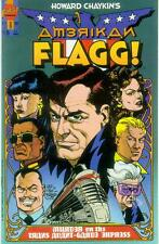 Howard Chaykin 's American Flagg! # 8 (Mike vosburg) (états-unis, 1988)