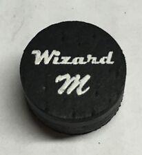 Wizard Black Medium Pool Cue Tips 14mm Quantity 1 Tip
