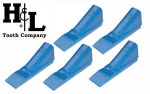 1-3/4SP H&L Tooth Original Fab Bucket Teeth (5 Pack) 1 3/4SP 1-3/4F 8075 Crimp