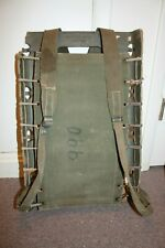 USA AMERICAN SEATING CO. GAS CAN PACK CARRYING SOME DAMAGE BUT VERY RARE