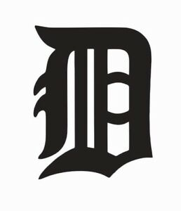 Detroit Tigers MLB Baseball Vinyl Die Cut Car Decal Sticker - FREE SHIPPING