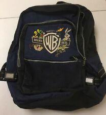 Vintage Warner Bros Backpack School Bag a1Q