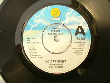 PHILLY CREAM MOTOWN REVIEW / JOIN THE ARMY uk Fantasy FTC 180 demo / promo
