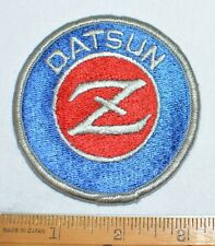 Datsun Z Car Vintage Iron-On Embroidered Vintage Patch Jacket Vest Racing Rare