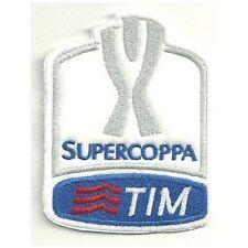 [Patch] SUPERCOPPA TIM replica cm 7 x 9 toppa ricamata ricamo termoadesiva -221
