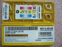 QTY 20x Mitsubishi DCMT32.51 DCMT11T304 US735 NEW