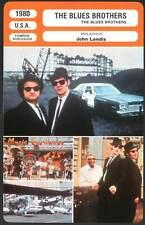 BLUES BROTHERS - Aykroyd,Belushi,Franklin,Fisher,Landis (Fiche Cinéma) 1980