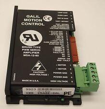 Galil 25A8E-GAL PWM Brush Servo Amplifier 25A8  MSA-12-80  5 mA out