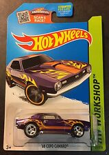 Hot Wheels Super CUSTOM 68 Copo Camaro with Real Riders