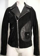 Pierre Balmain Stud Leather Jacket señores de diseño chaqueta de cuero talla 50 nuevo + etiqueta